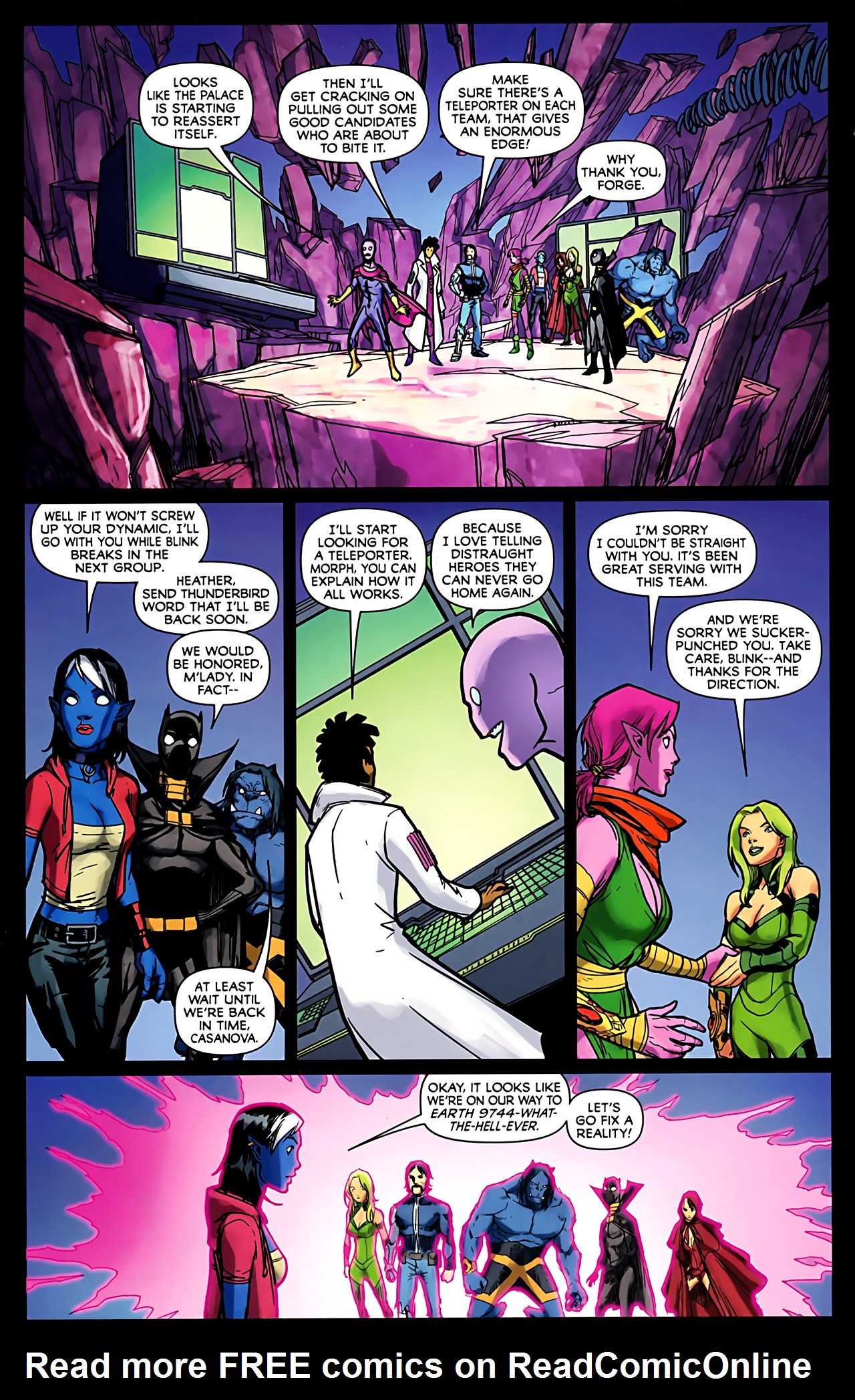Read online Exiles (2009) comic -  Issue #6 - 38