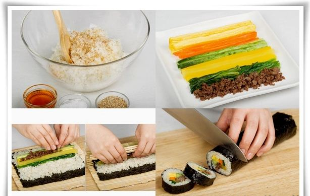 Cara Membuat kimbab ala korea