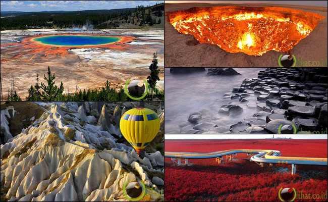 8 Pemandangan Menakjubkan di berbagai Belahan Dunia