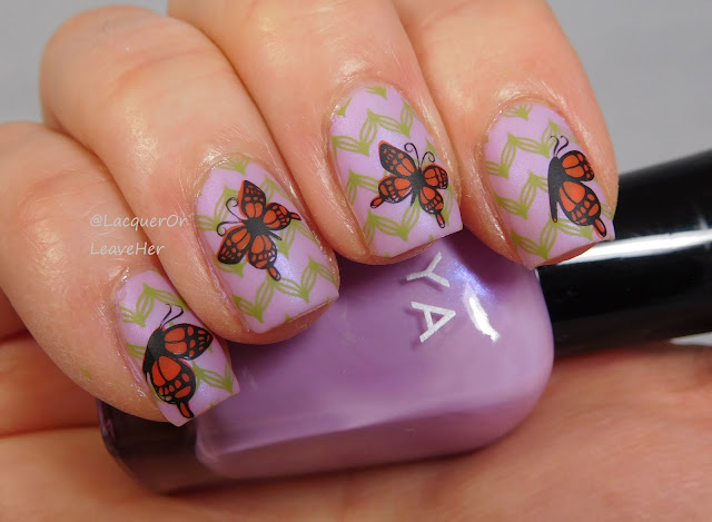 UberChic Beauty 24-01 over Zoya Haruko