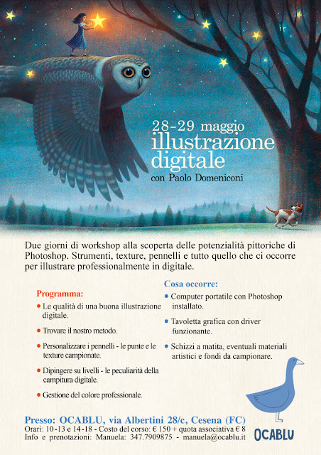 workshop illustrazione