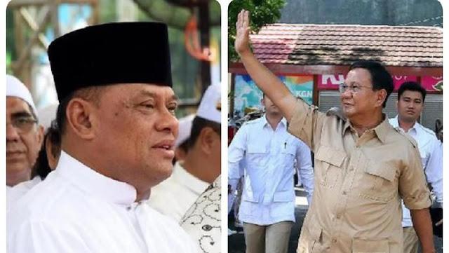 Menurut Partai Gerindra Jendral Gatot Nurmantyo Bukan Saingan Atau Tandingan Prabowo Subianto