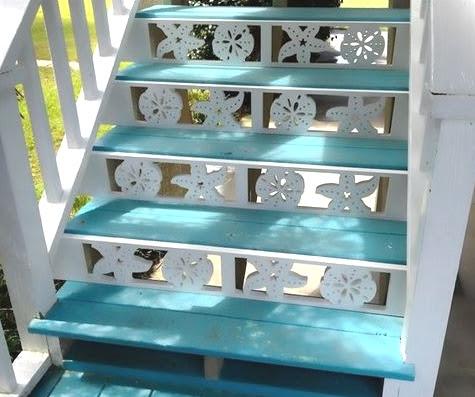 coastal stair riser