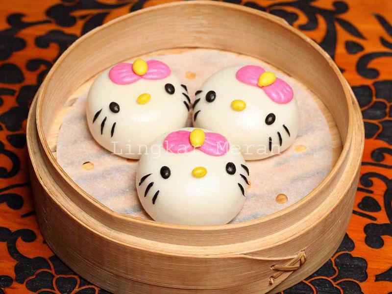 Restoran Dim Sum Gambar Hello Kitty Pertama Di Dunia
