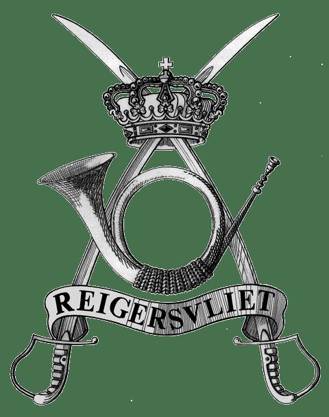 Création du logo du 2/4 Chasseurs à cheval. Nolet de Brauwere et Cdt Sibille.