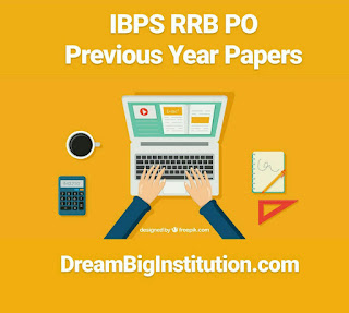 IBPS RRB PO Previous Year Question Papers PDF