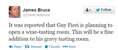 Guy Fieri Humorous Tweet 1