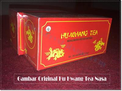 hu whang tea teh pelangsing nasa