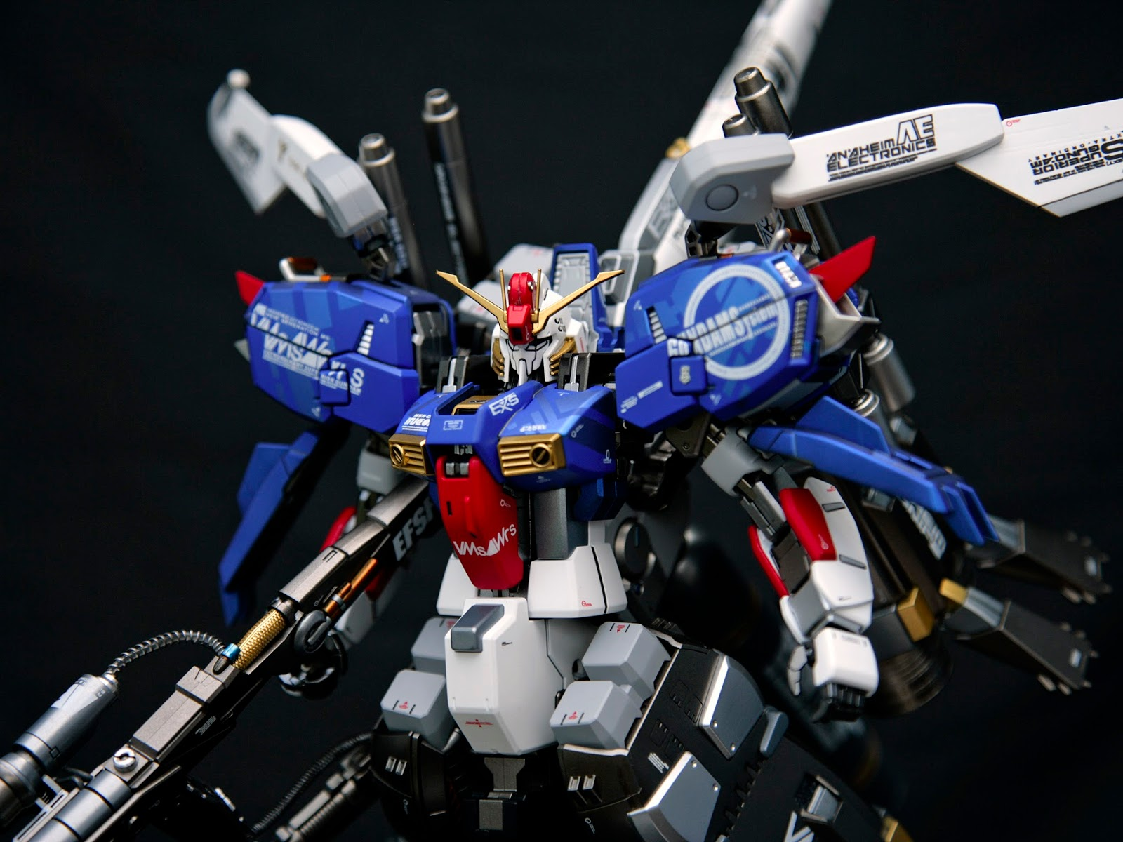 Custom Build Mg 1 100 Ex S Booster Unit Type Gundam Kits Collection News And Reviews