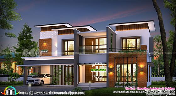 5 bedroom 3600 square feet modern contemporary house