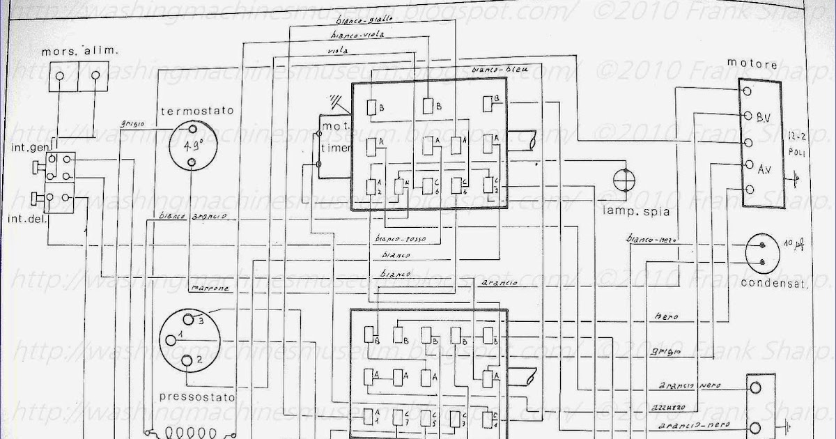Washer Rama Museum.: CANDY SA65 TIMER 22690 SCHEMATIC DIAGRAM.