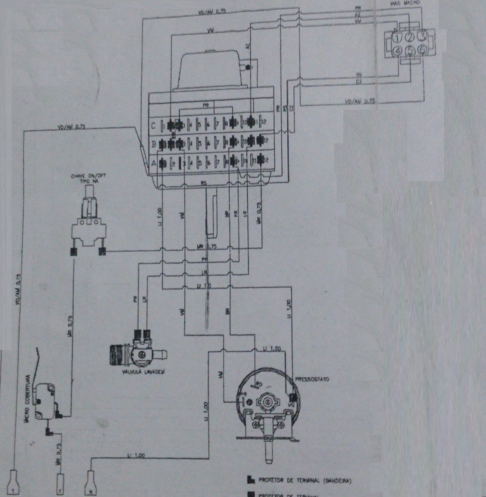 Consertando Minha Maquina De Lavar Diagrama Pictorico