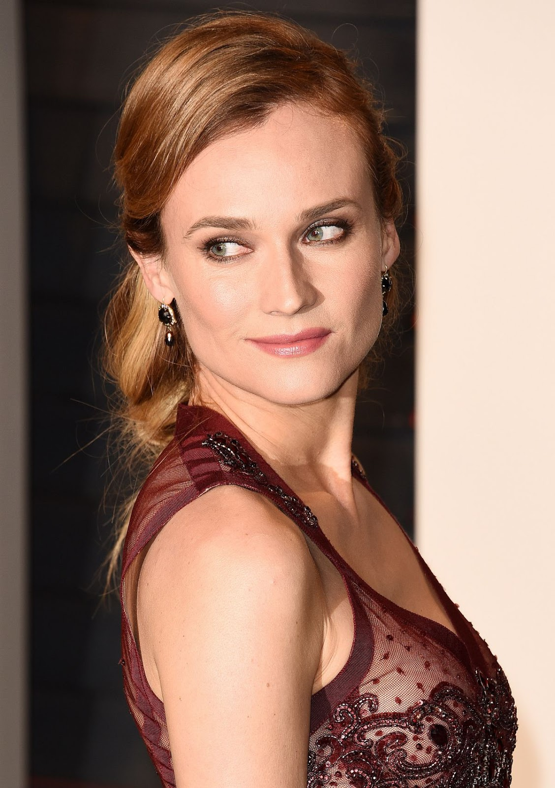 The Infiltrator & Sky actress Diane Kruger at Vanity Fair Oscar 2016 Party in Beverly Hills