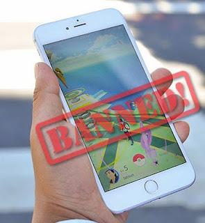 5 Hal Terlarang Saat Bermain Pokemon Go