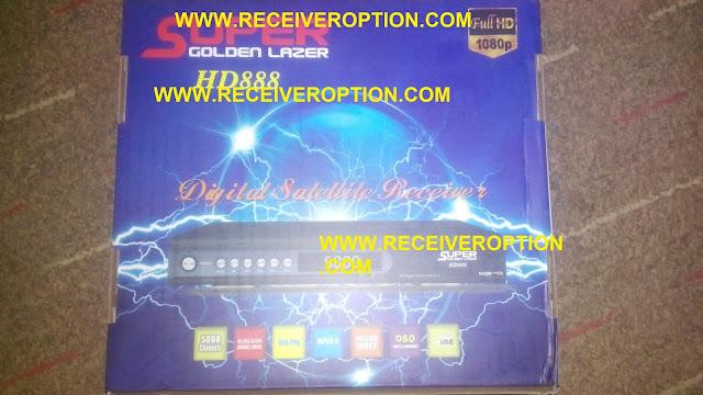 SUPER GOLDEN LAZER HD888 RECEIVER CCCAM OPTION