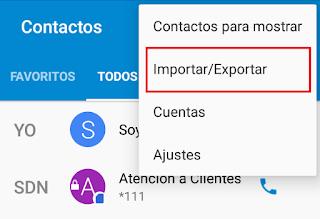 importar-exportar-contactos-telefono-android