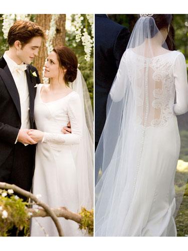 Vestido de novia de la pelicula crepusculo