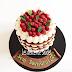 Naked cake, çiplak pasta babamiz için