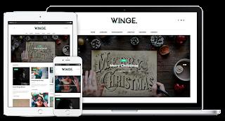 Winge Blogger Template