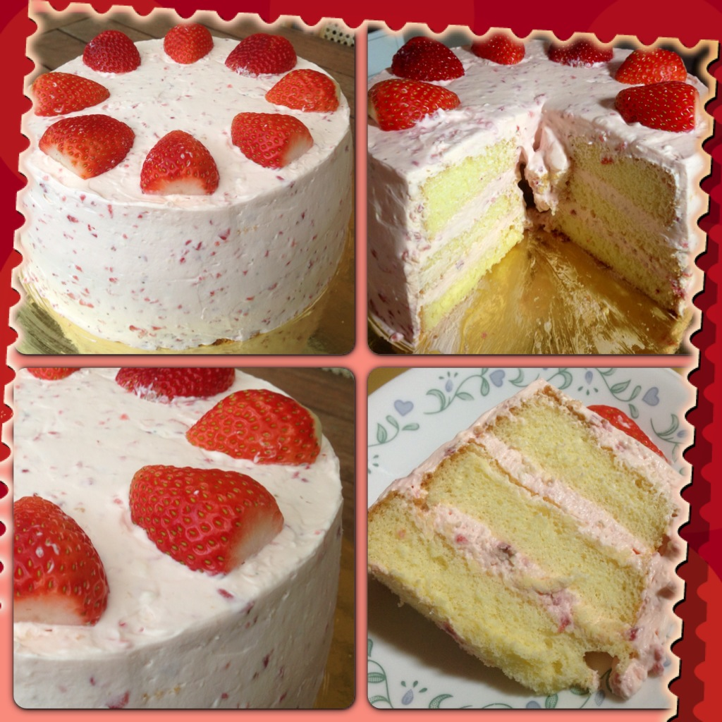 Heart Of Mary Strawberry Shortcake