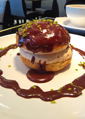 choux franklin, dessert, Chez Franklin, restaurant, Nantes, bistrot, bullelodie