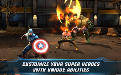 Marvel Avengers Alliance 2 v1.0.2 MOD Apk Terbaru screenshot 1