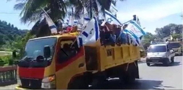 Viral Video Bendera Israel Berkibar di Papua