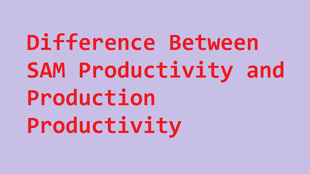 SAM productivity