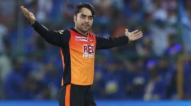 Rashid Khan A Finger Spinner