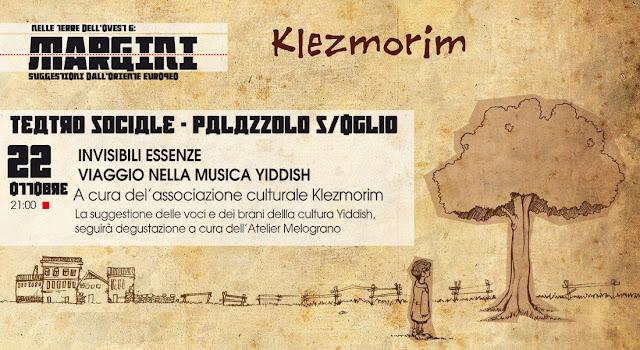 Invisibili Essenze - Viaggio nella musica Yiddish con i Klezmorim