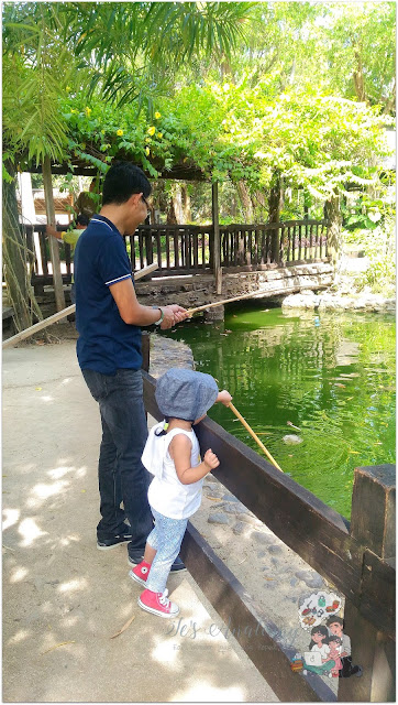 Fishing at The Fun Farm at Sta. Elena