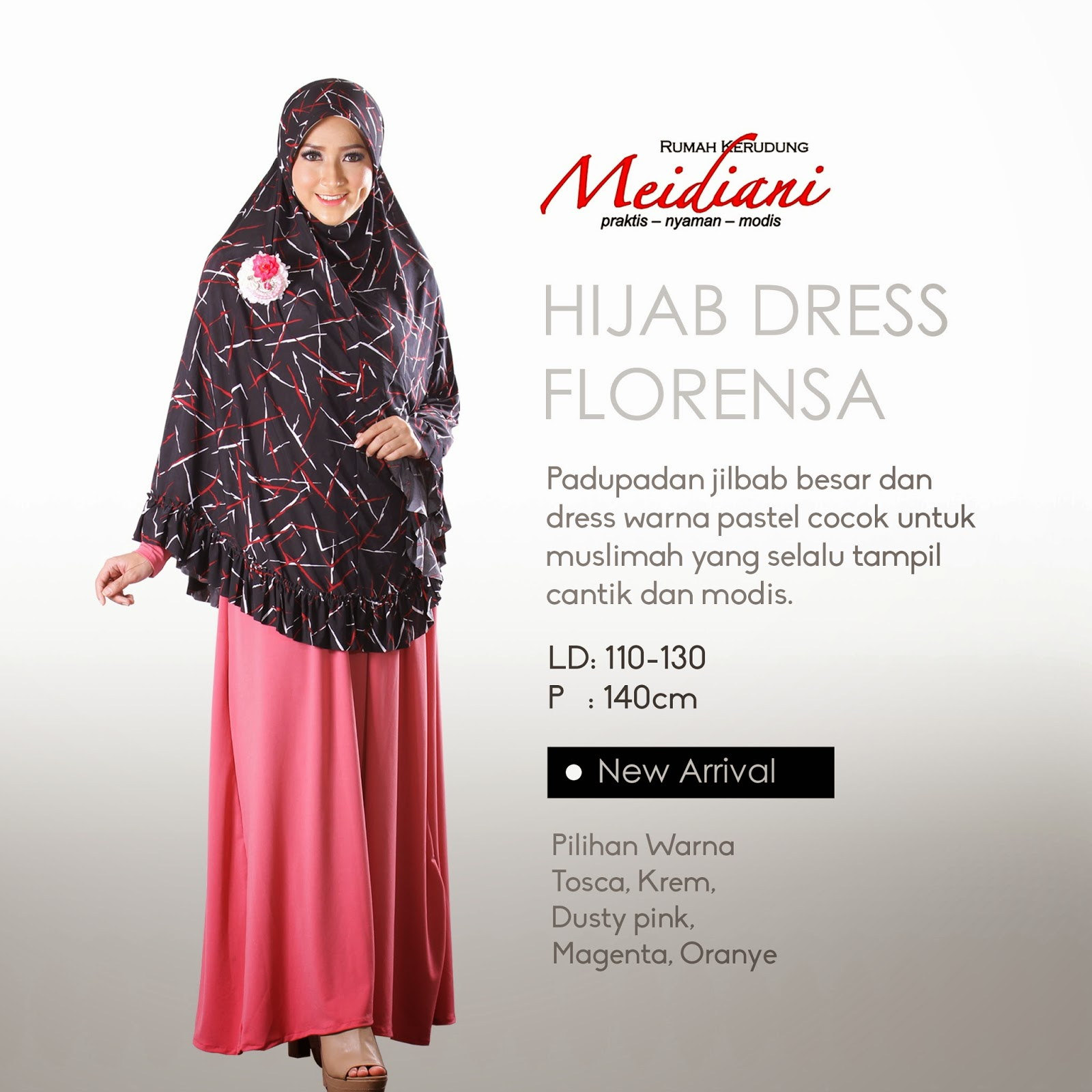 Hijab Dress Florensa