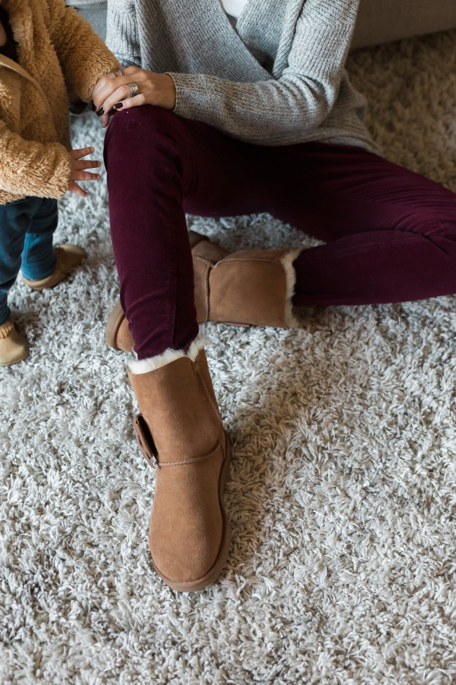 How to style Ugg Boots - One Little Momma