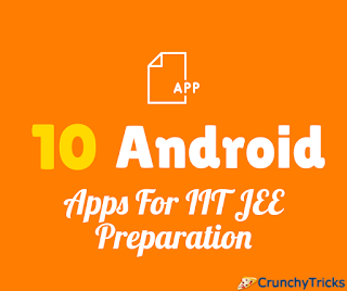 Apps For IIT JEE Preparation