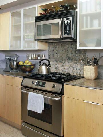 Kitchen Backsplash Focal Point Over The Sink