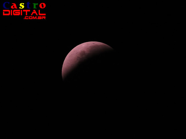 Eclipse da Superlua de Sangue