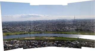 アイ・リンクタウン展望台からの眺め