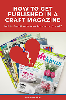 How to get published in a craft magazine