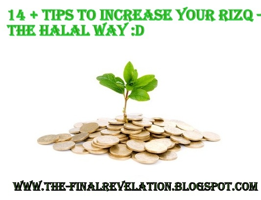 14+ TIPS TO INCREASE YOUR RIZQ & SUSTENANCE THE HALAAL WAY | The