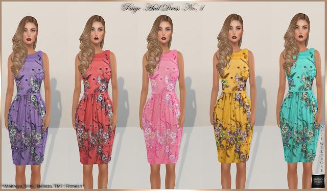 SASCHA'S DESIGNS - Paige HUD Dress (Mesh Bodies & Fitmesh)