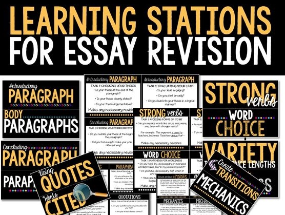 REVISION LEARNING STATIONS - Room 213