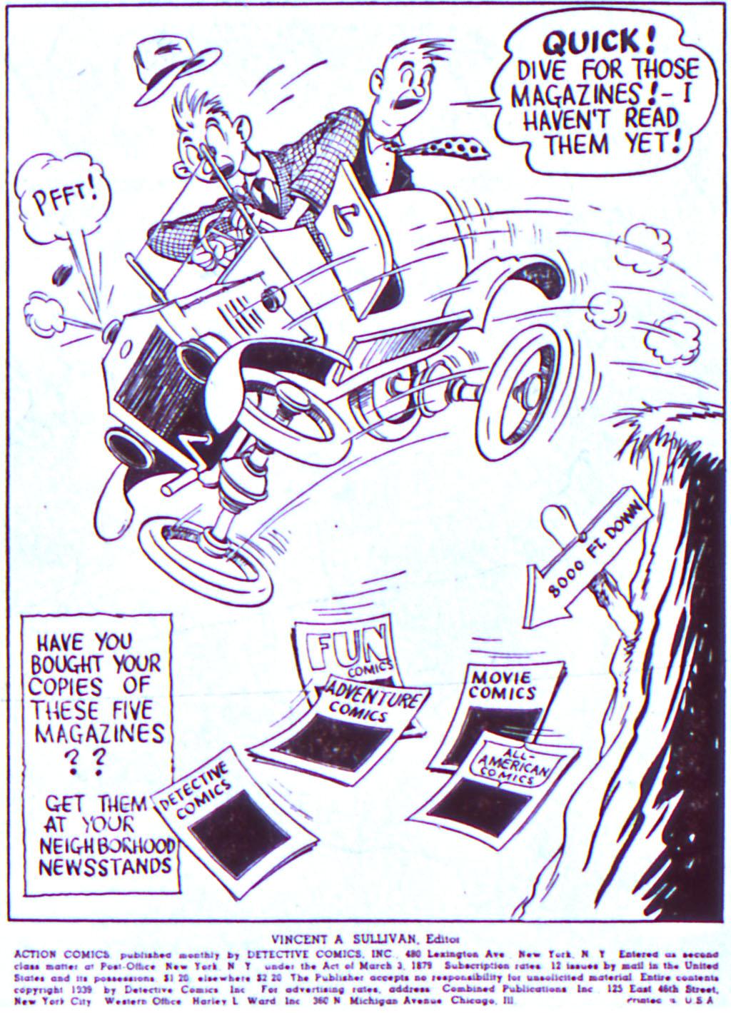 Action Comics (1938) 19 Page 1