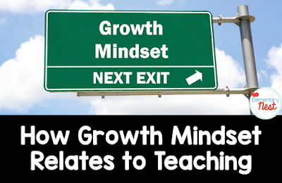 Growth Mindset lessons and activities- teaching kids about growth mindsets- blog post with free activities and ideas