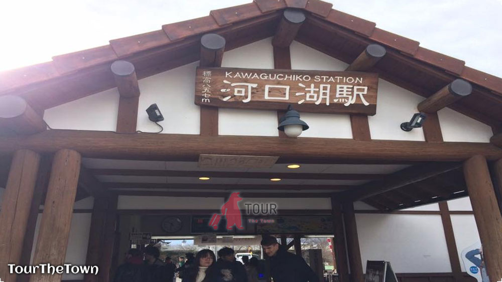 Kawaguchiko Station Wisata Jepang