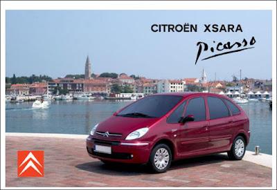 Manual do proprietário Citroën Xsara Picasso