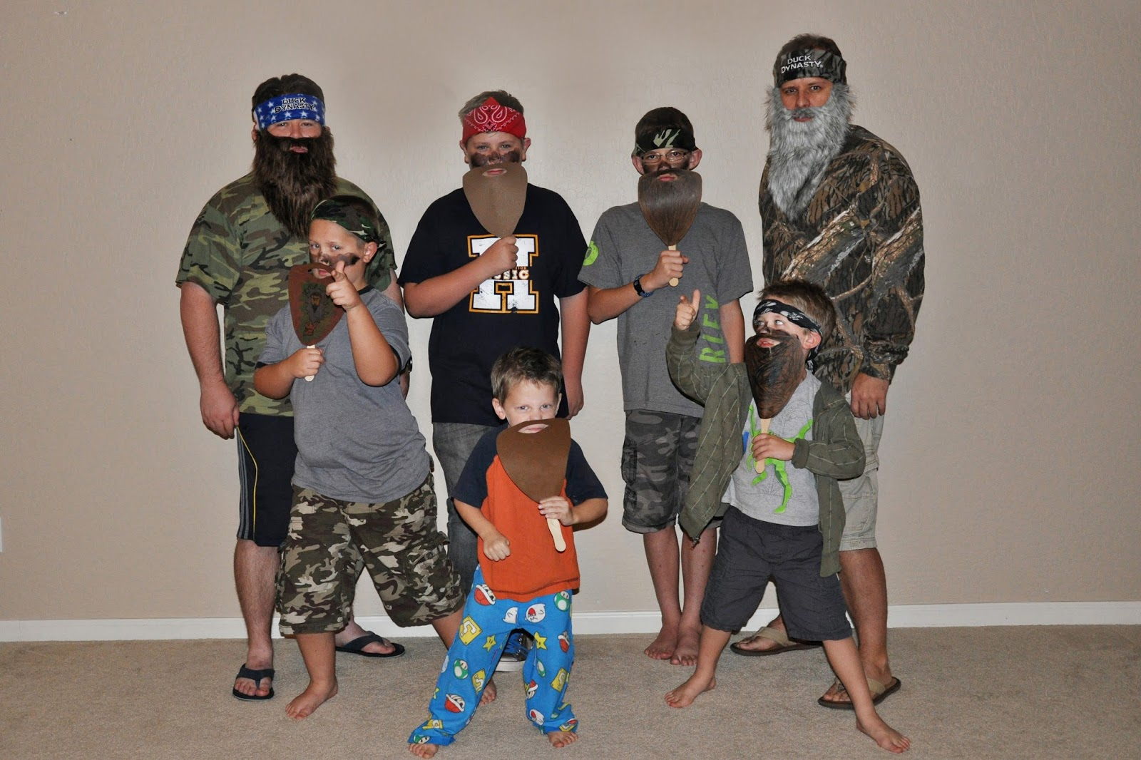Outstanding Homemaking Fun A Duck Dynasty Themed Birthday Party Personalised Birthday Cards Veneteletsinfo