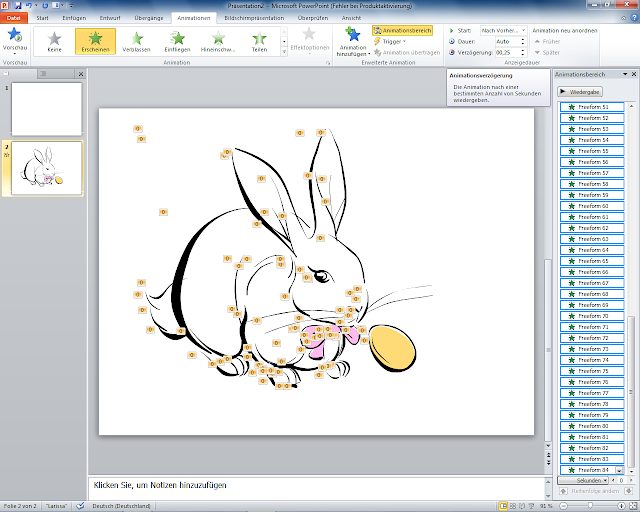 PowerPoint 2010 - ClipArt Animationsverzögerung
