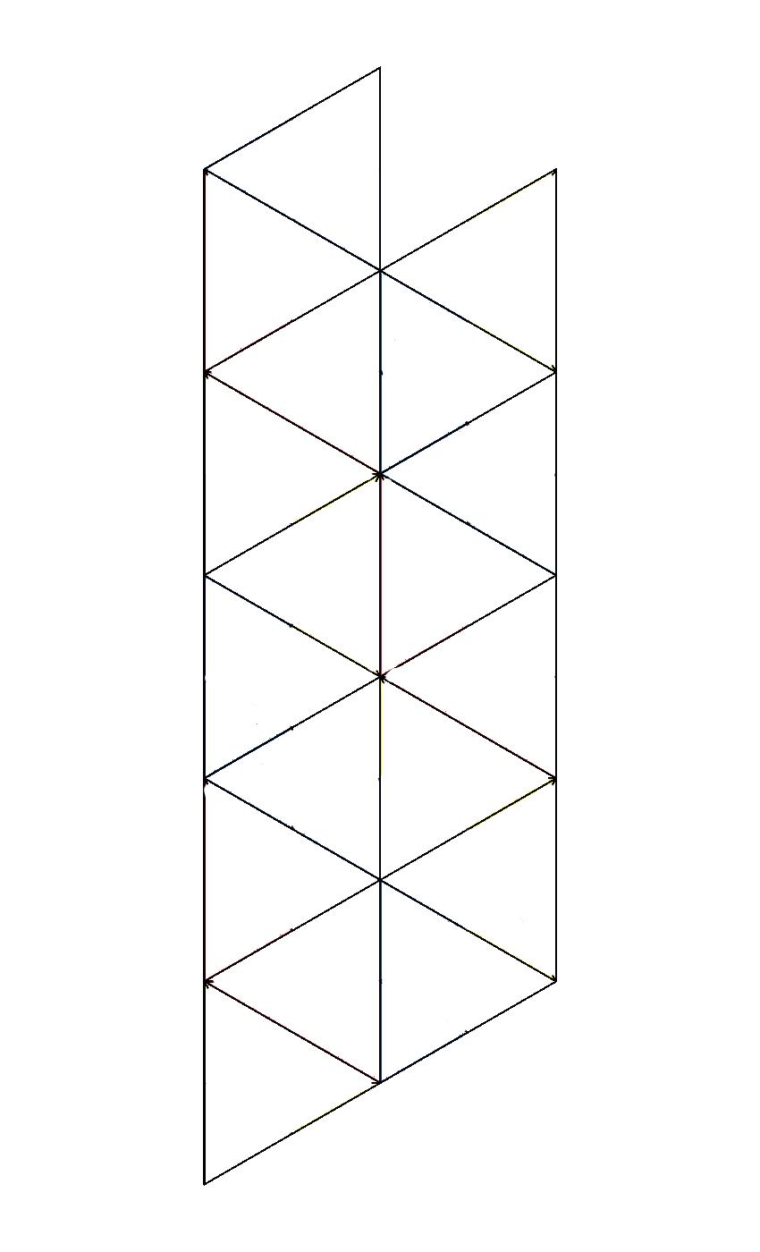hexahexaflexagon template matt scroggs blogs electromagnetic field talk