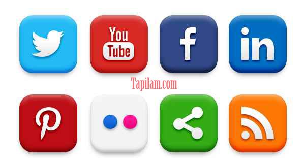 Botones de Compartir en Redes Sociales