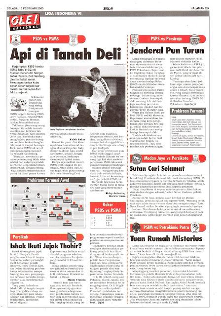 LIGA INDONESIA VI: PSDS VS PSMS